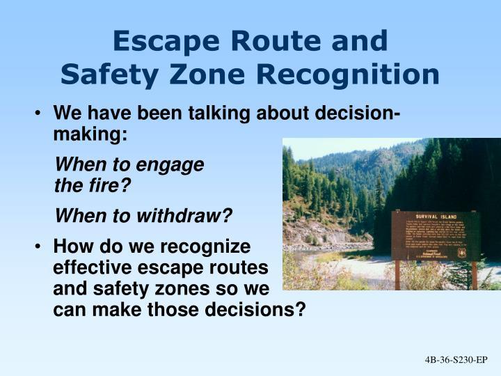 Escape Route and