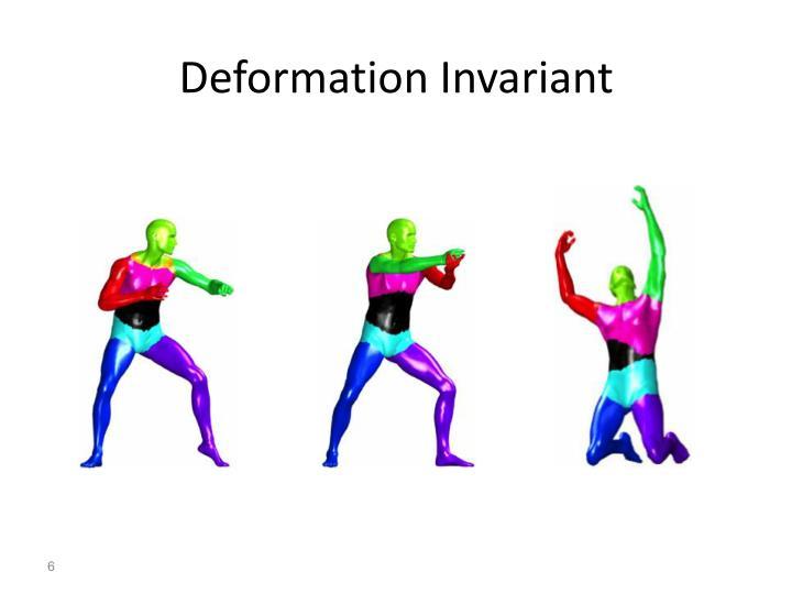 Deformation Invariant