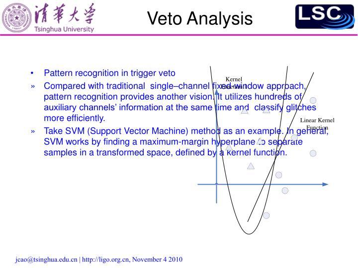 Veto Analysis
