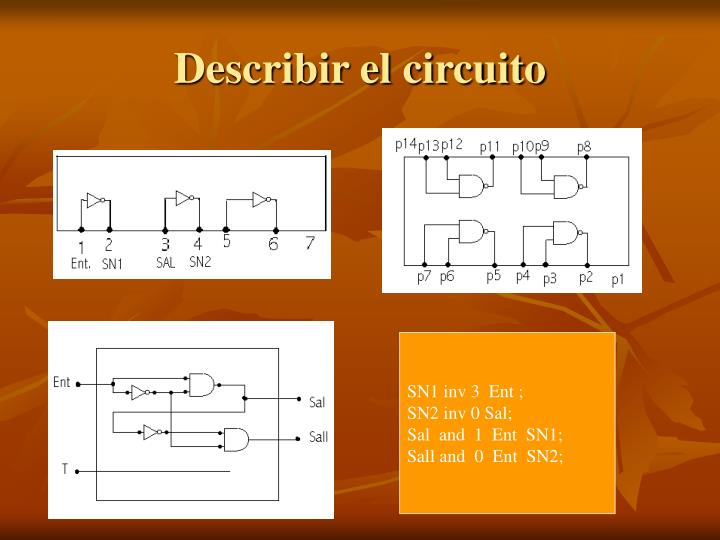 Describir el circuito