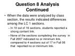 question 8 analysis continued1