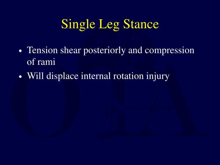 Single Leg Stance