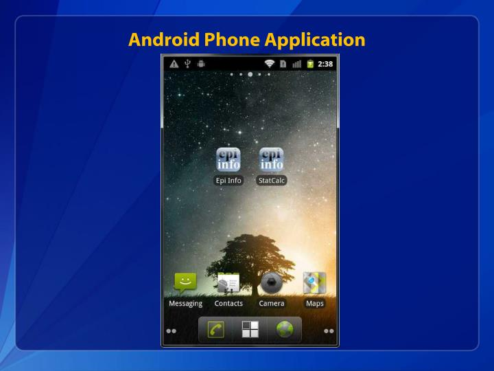 Android Phone Application