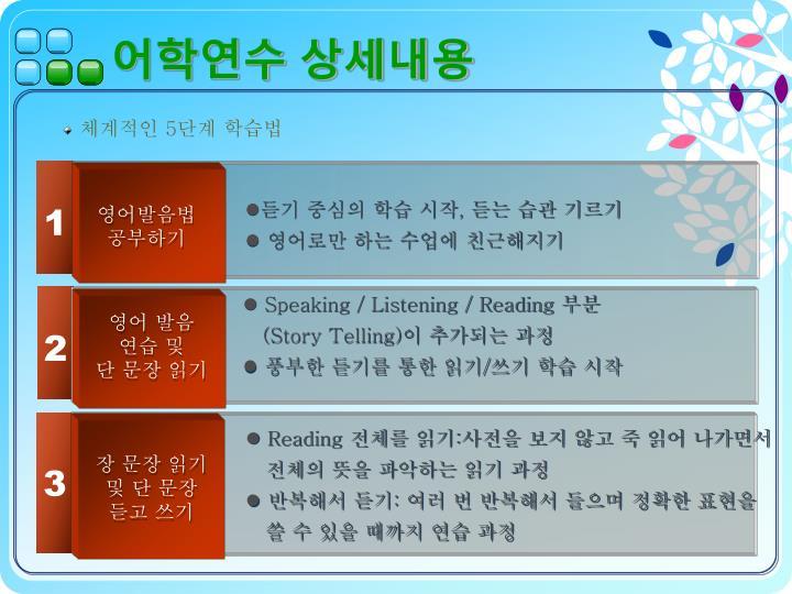 어학연수 상세내용