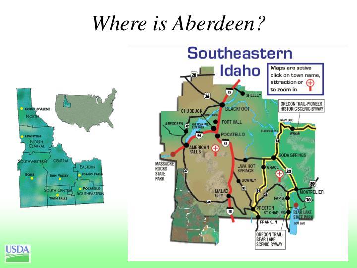 Where is Aberdeen?