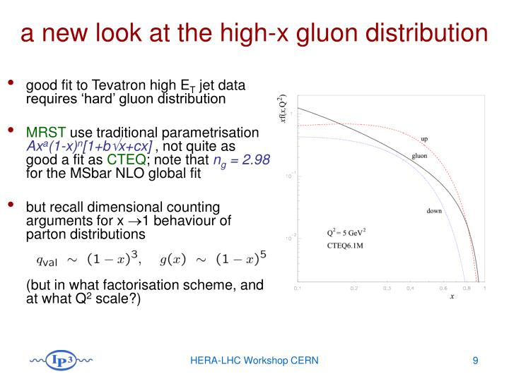 a new look at the high-x gluon distribution