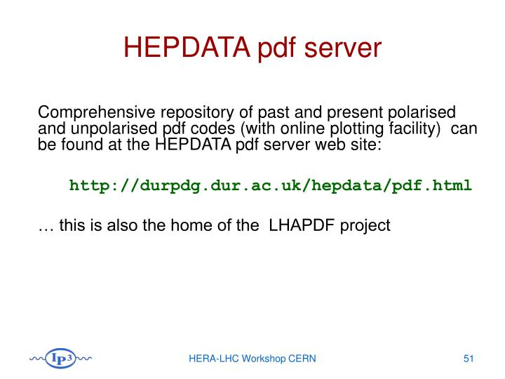 HEPDATA pdf server