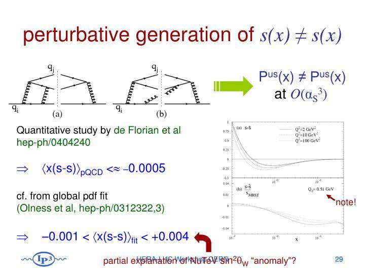 partial explanation of NuTeV