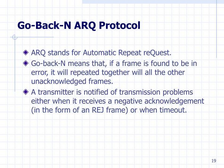 Go-Back-N ARQ Protocol
