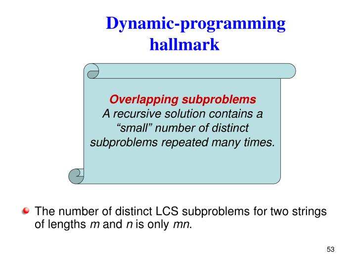Dynamic-programming