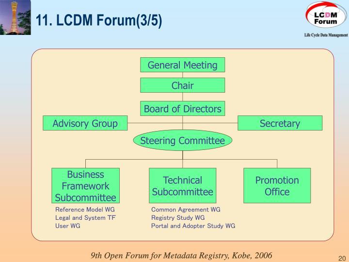 11. LCDM Forum(3/5)