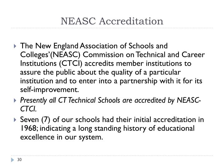 NEASC Accreditation