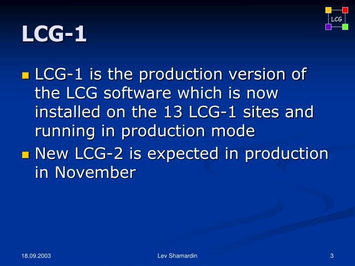 LCG-1