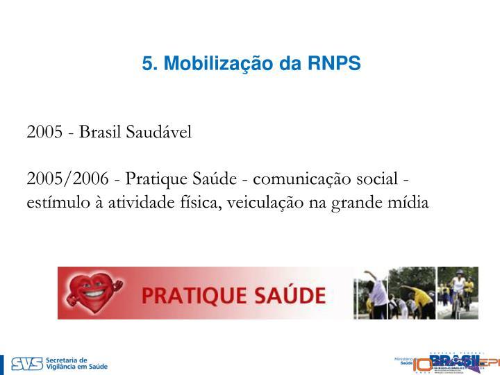 5. Mobilização da RNPS