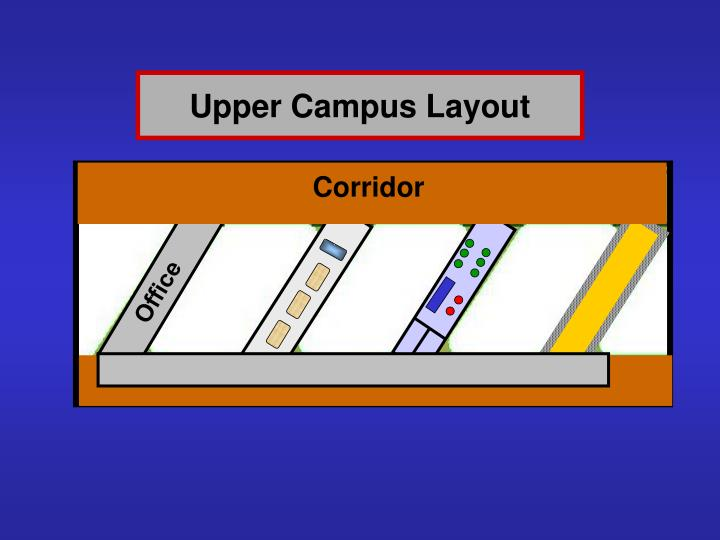 Upper Campus Layout