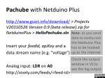 pachube with netduino plus
