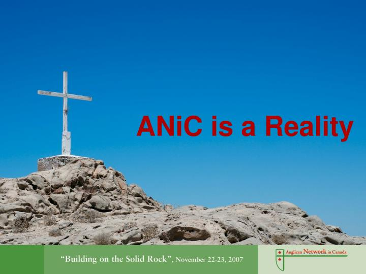Anic is a reality