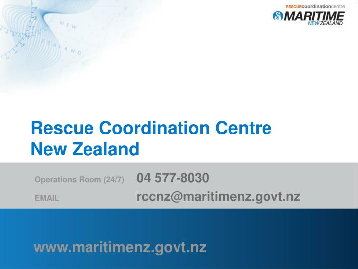 Rescue Coordination Centre