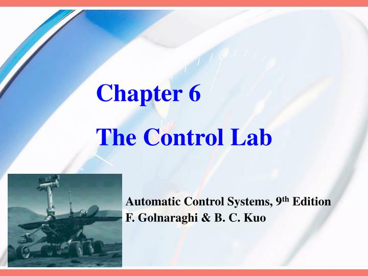 Chapter 6 the control lab