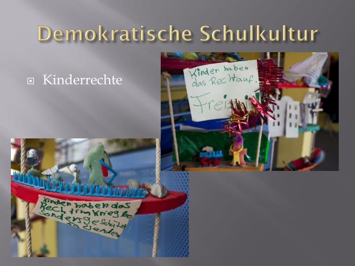 Demokratische Schulkultur