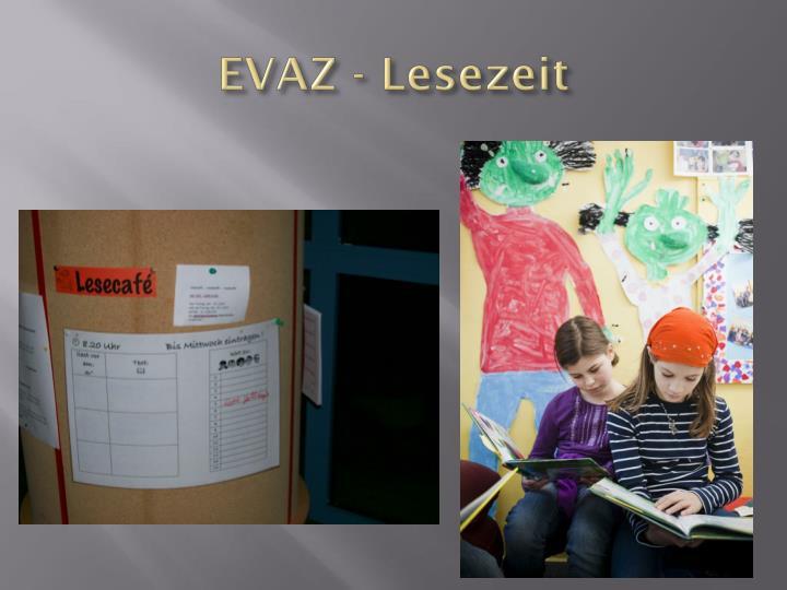EVAZ - Lesezeit