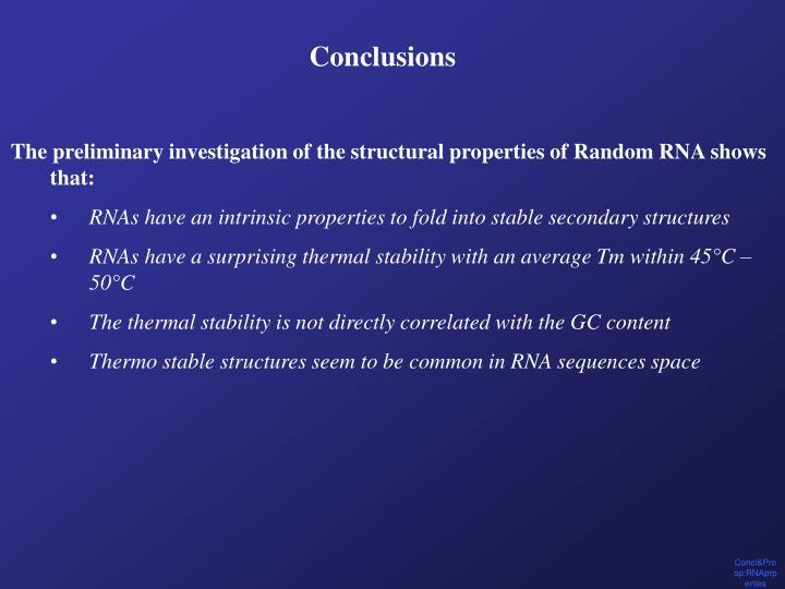 Concl&Prosp:RNAprperties