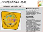 stiftung soziale stadt25