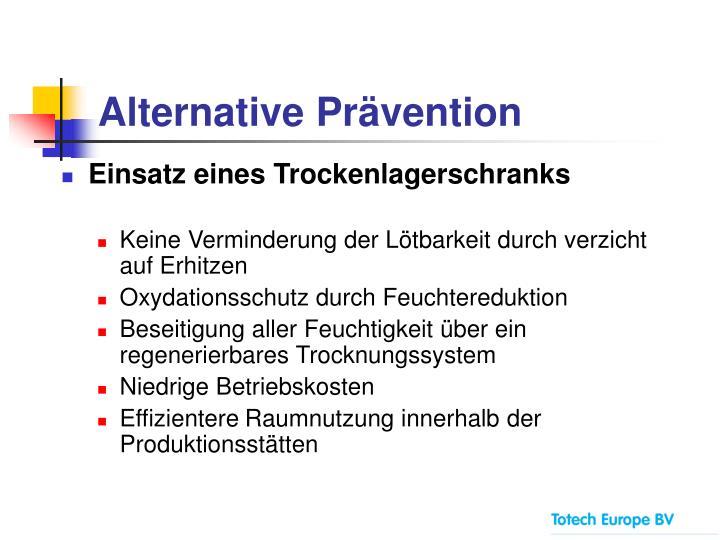 Alternative Prävention