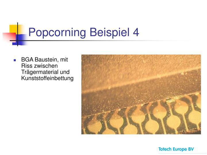 Popcorning Beispiel 4