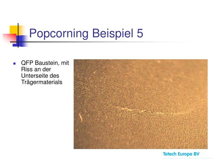 Popcorning Beispiel 5