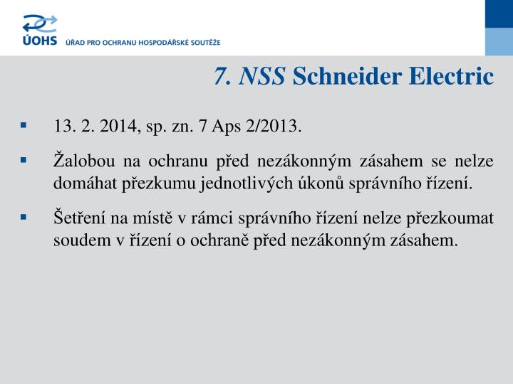 7. NSS