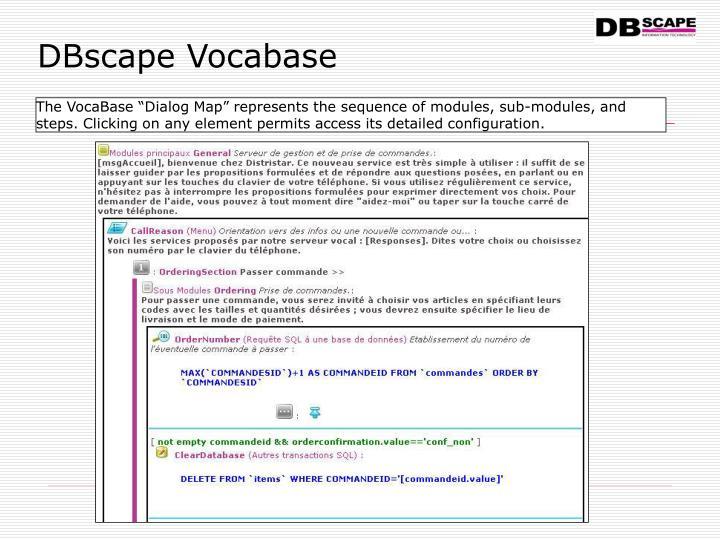 DBscape Vocabase