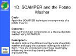 1d scamper and the potato masher
