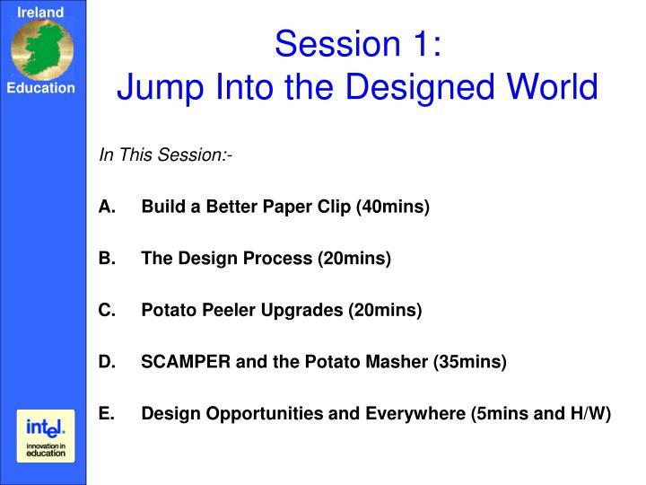 Session 1: