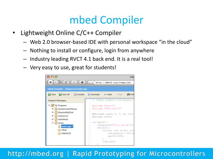 mbed Compiler
