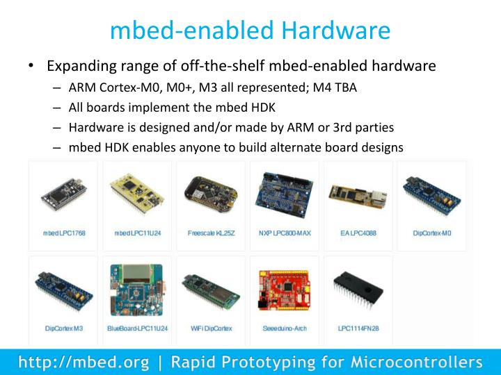mbed-enabled Hardware