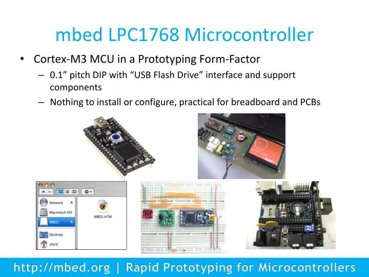 mbed LPC1768 Microcontroller