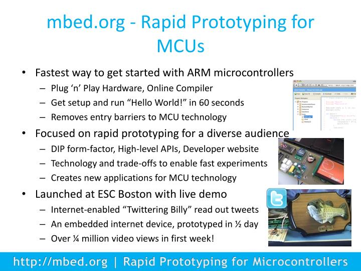 mbed.org - Rapid Prototyping for MCUs