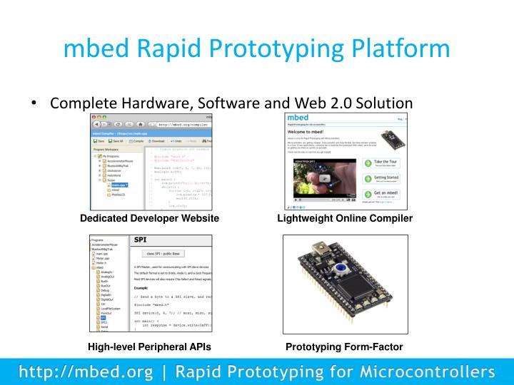 mbed Rapid Prototyping Platform