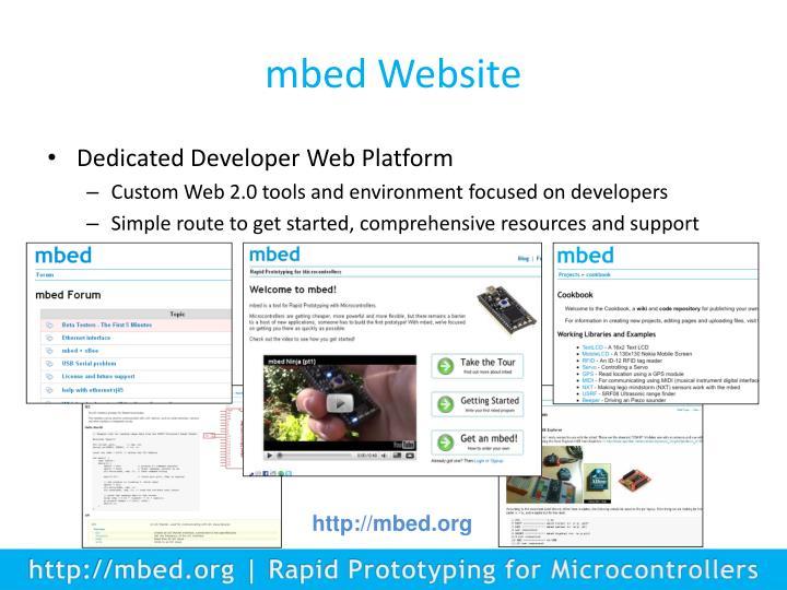 mbed Website