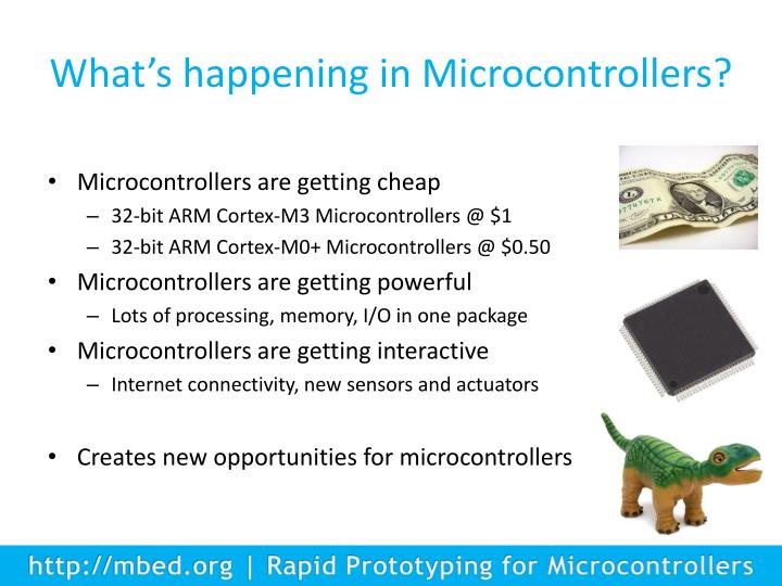 What's happening in Microcontrollers?
