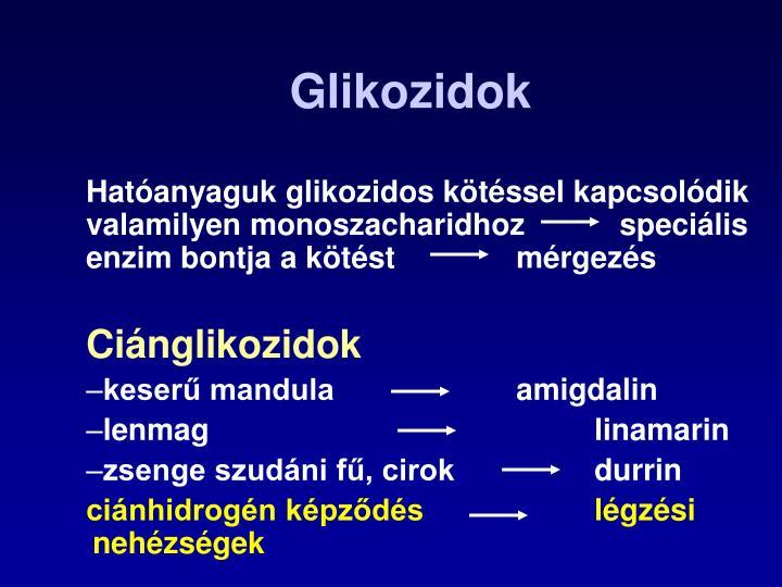 Glikozidok