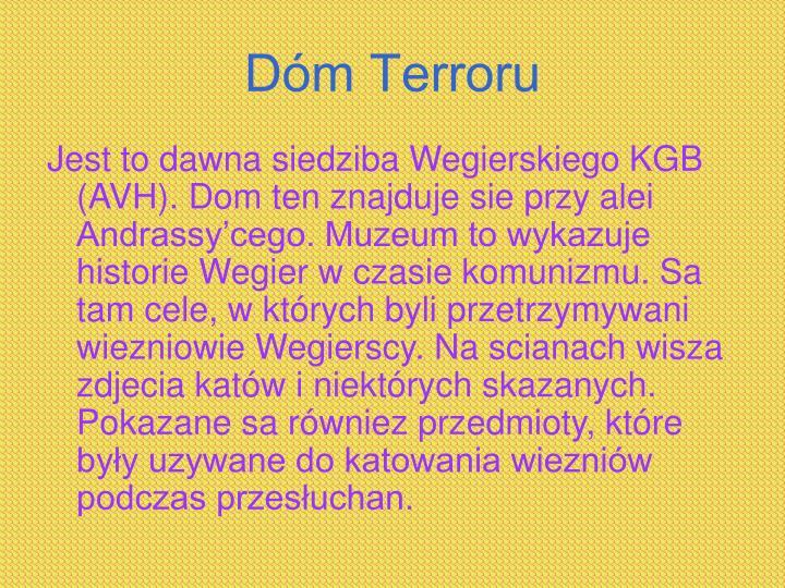 Dóm Terroru