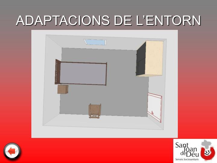 ADAPTACIONS DE L'ENTORN