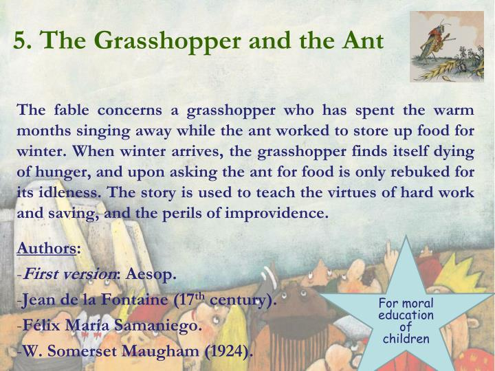 the ant and the grasshopper somerset maugham essay