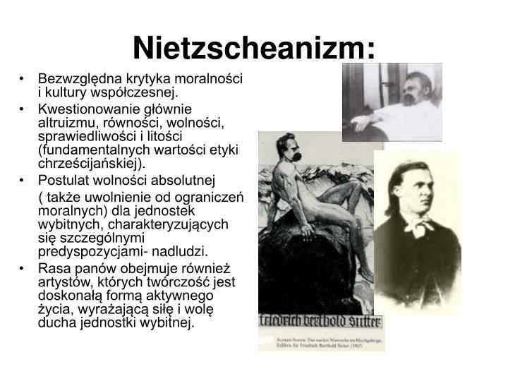 Nietzscheanizm: