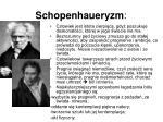 schopenhaueryzm