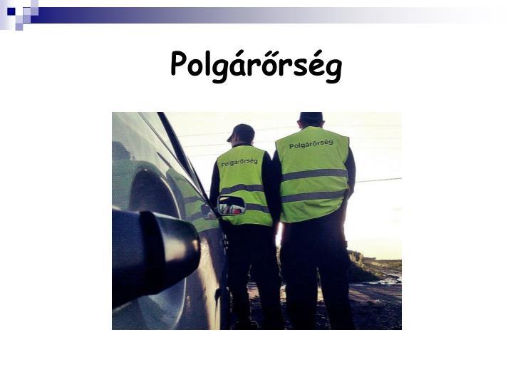 Polgárőrség