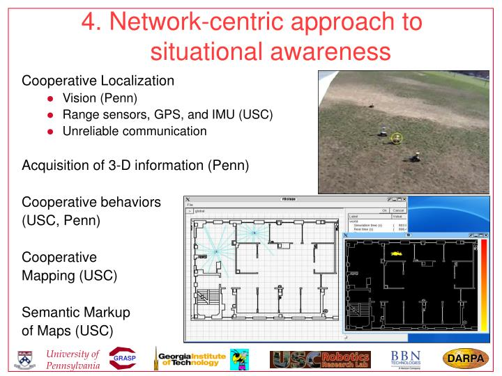 4. Network-centric approach to situational awareness