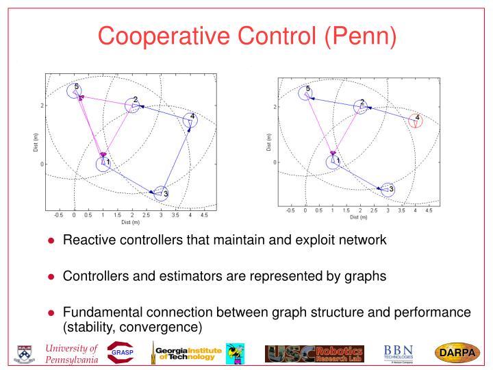 Cooperative Control (Penn)